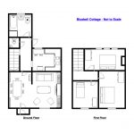 Bluebell Cottage - The Bath Holiday Company - Floor Plan